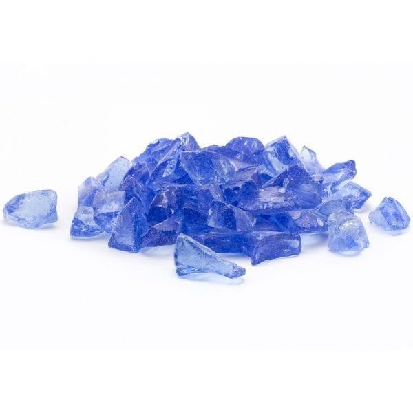 Royal Blue Landscape Glass