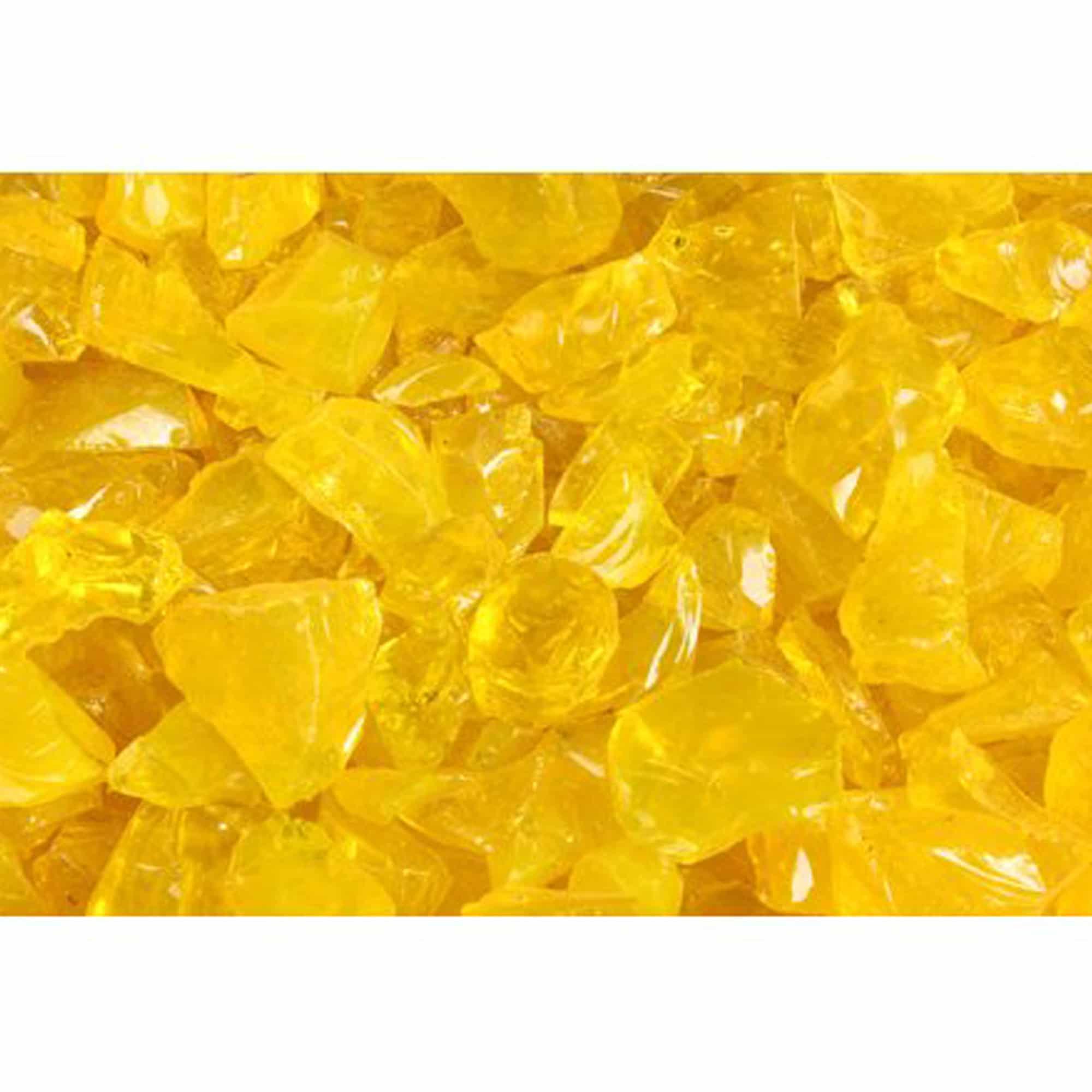 Yellow Landscape Glass