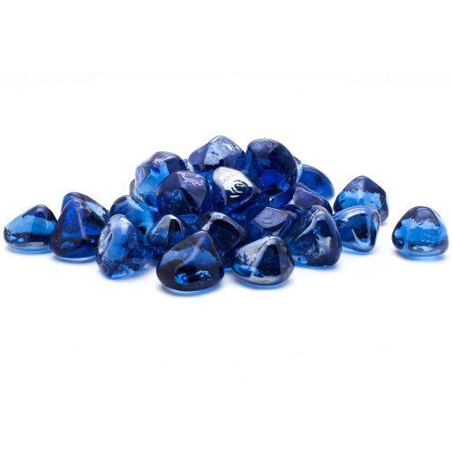 Cobalt Blue Diamond Glass