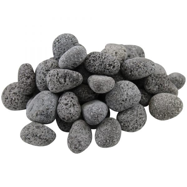 Black Lava Pebbles