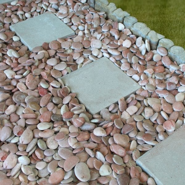 Rain Forest Bahama Pink Beach Pebbles