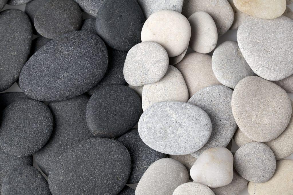 Black Pebbles and White Pebbles