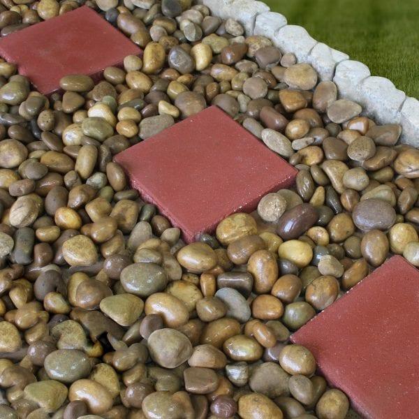 Rain Forest Royal Tan Pebbles