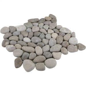 Natural Tan Pebble Tile